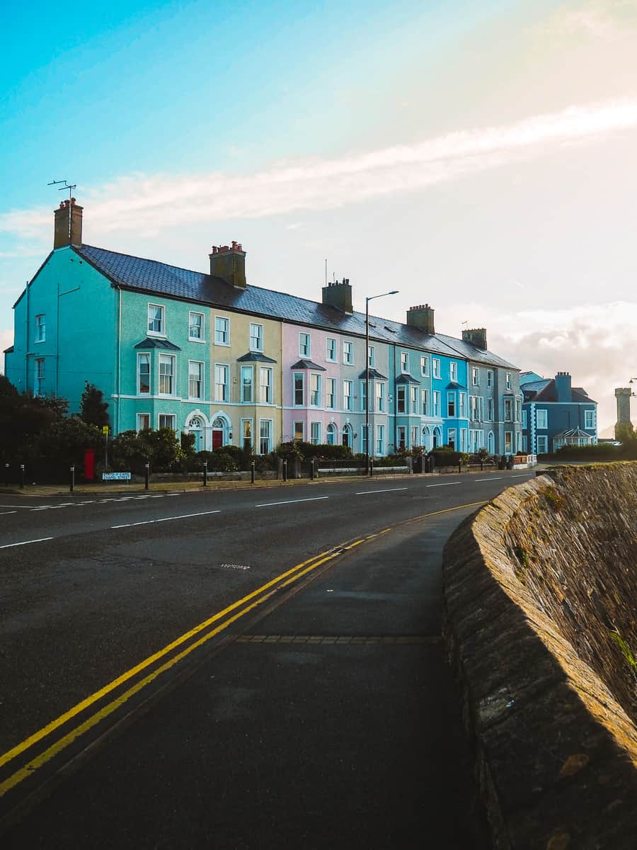 Colourful Houses Beaumaris West End Anglesey