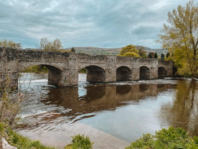 Crickhowell Bridge Brecon Beacons Wales