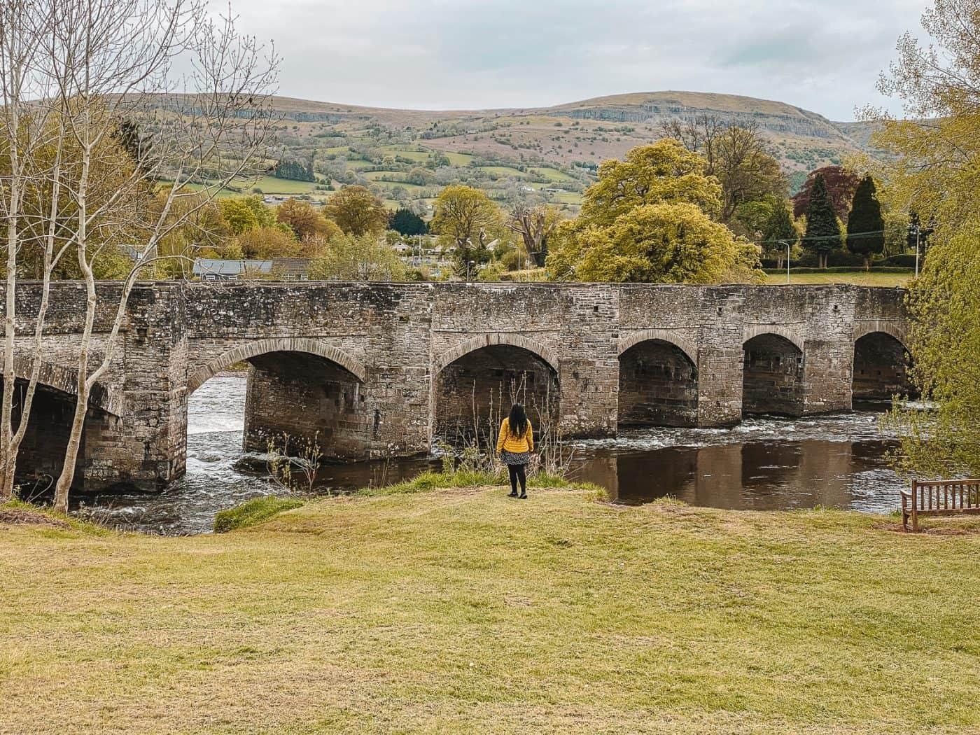 Crickhowell Bridge Wales Brecon Beacons