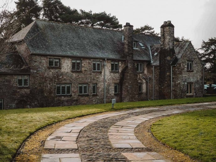 East Wing of Dartington Hall