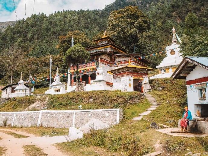 Namshu Monastery in Namshu Village