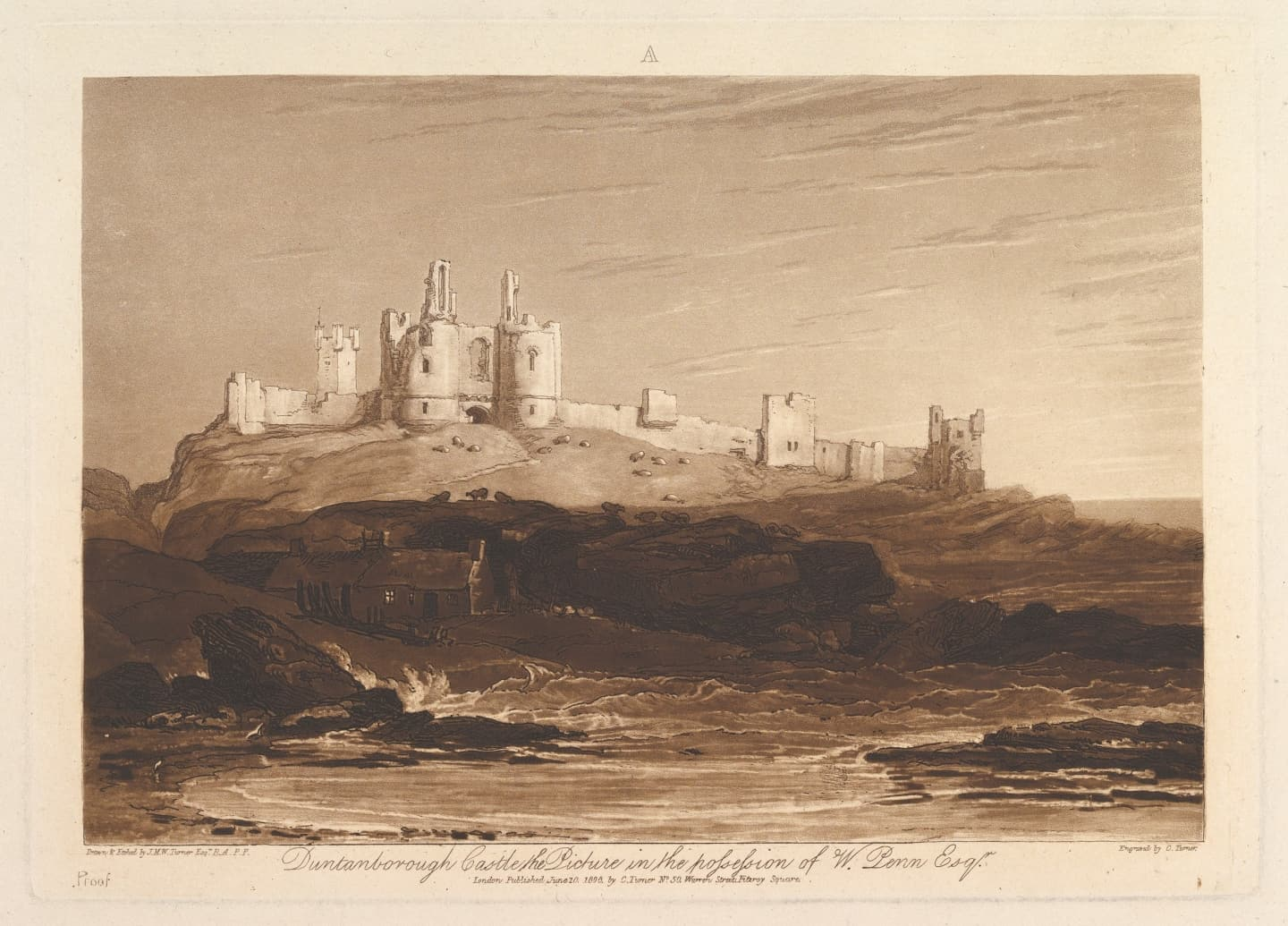 JMW Turner's Dunstanburgh Castle