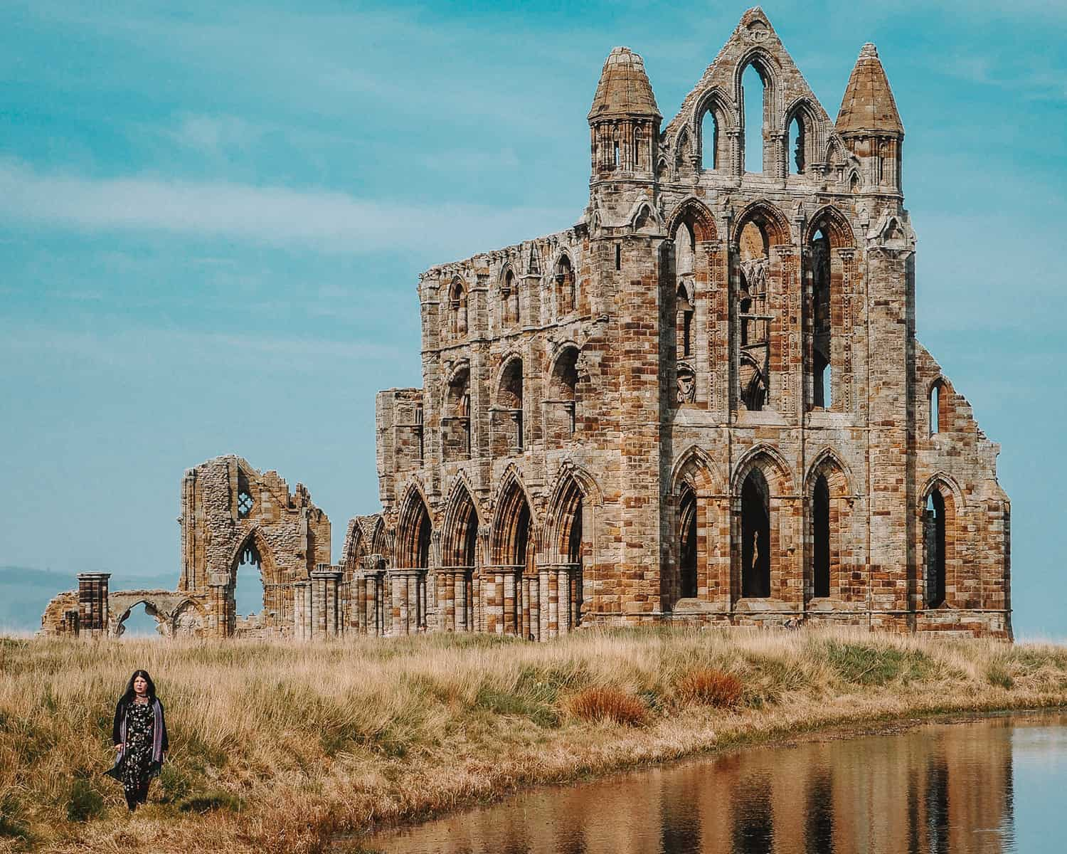 Dracula in Whitby Abbey