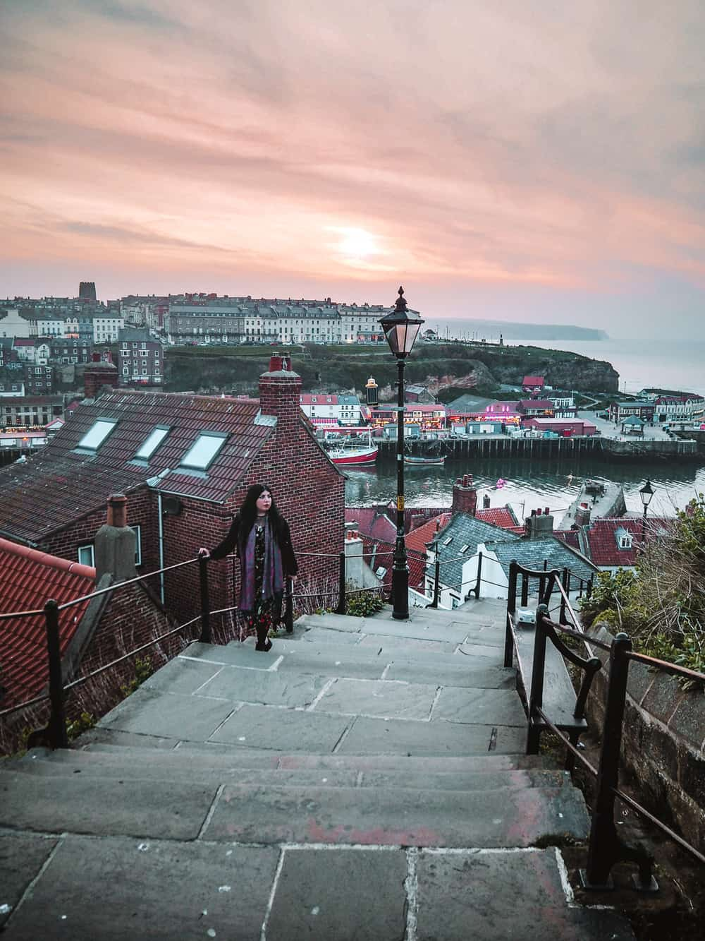 Dracula in Whitby 199 steps
