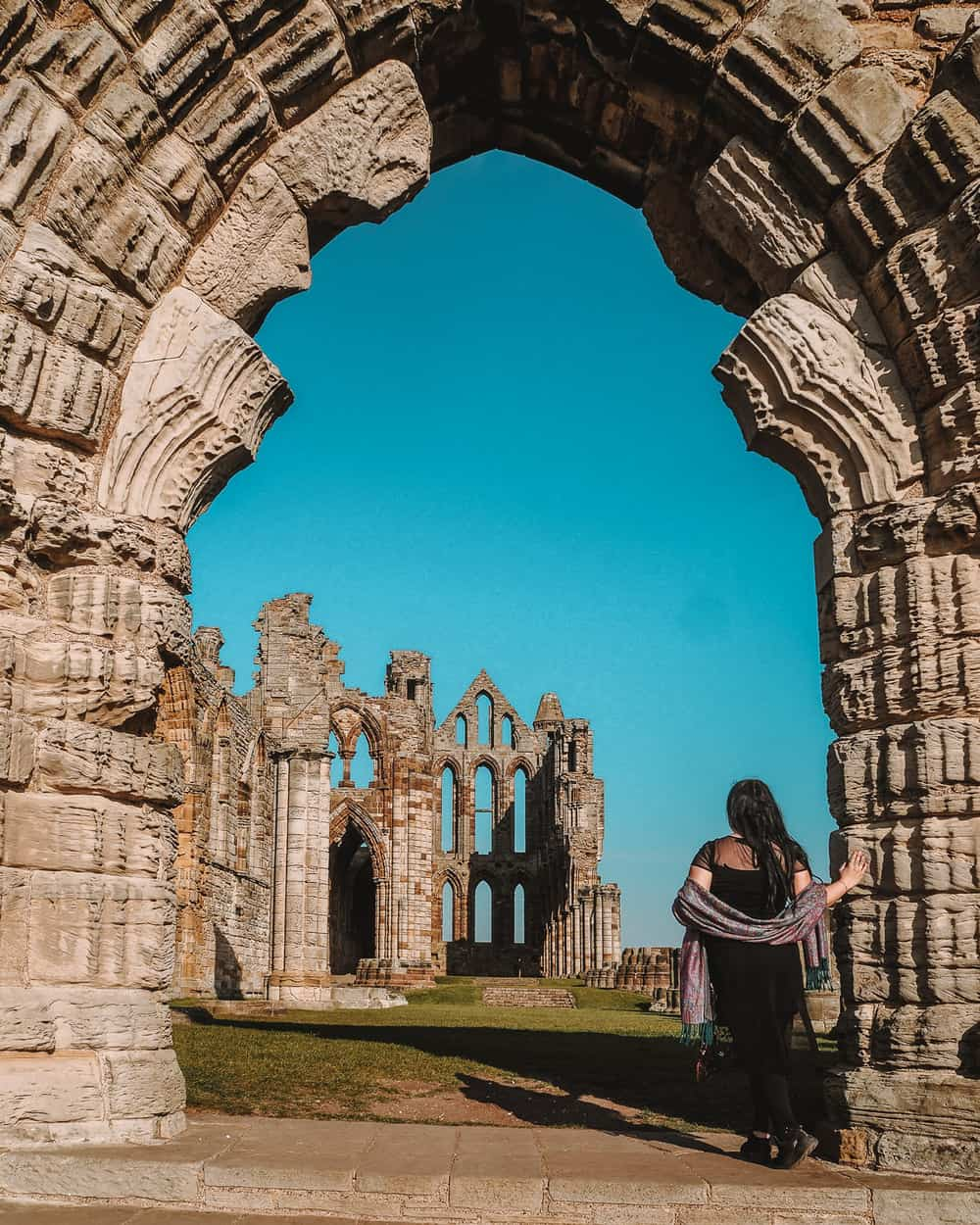 Dracula in Whitby ruins