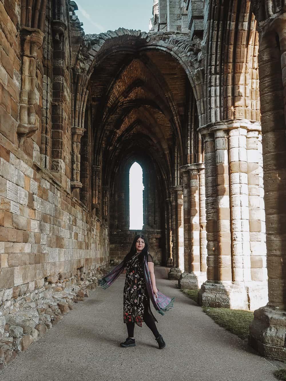 Dracula in Whitby Abbey