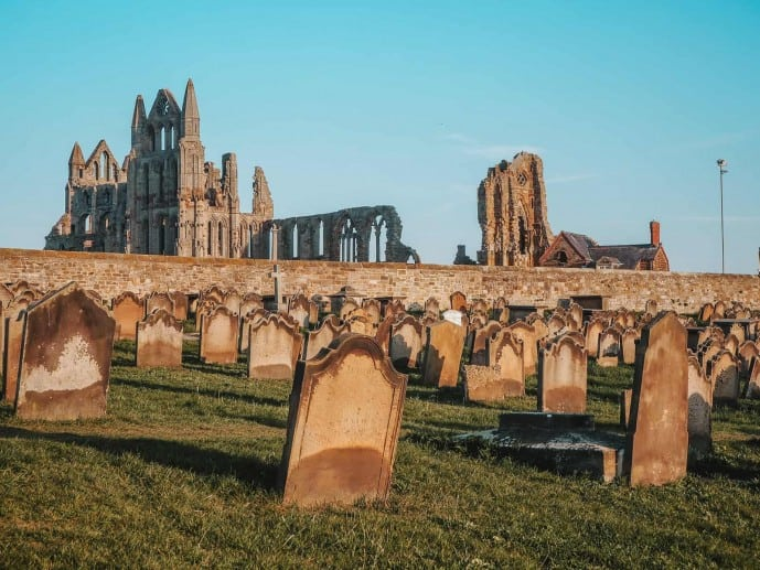 St Mary's Church Graveyard Whitby