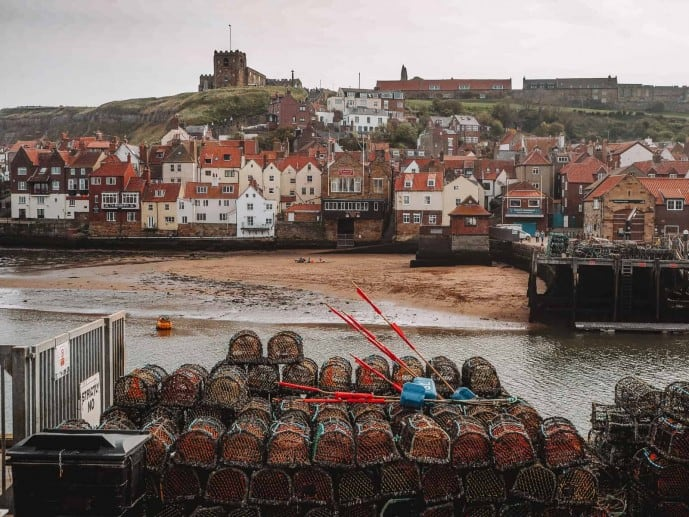 Whitby View of the Harbour