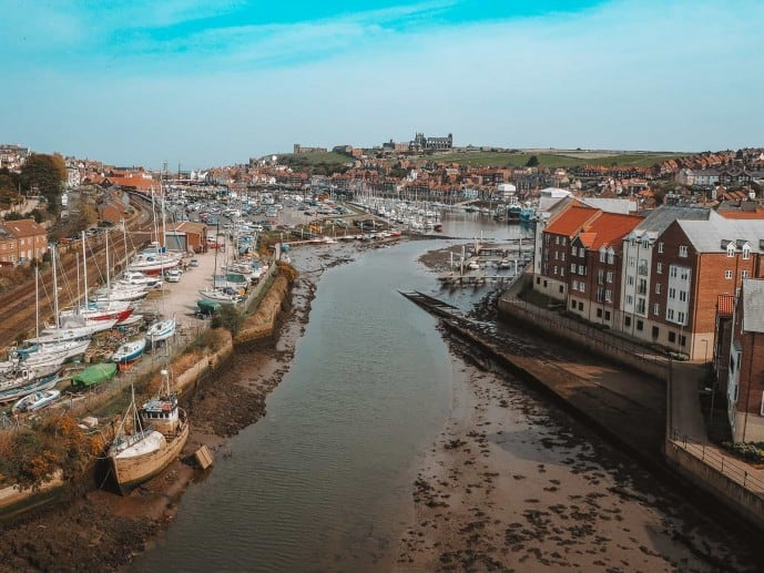 Whitby Town View - Instagrammable place in Whitby photography location