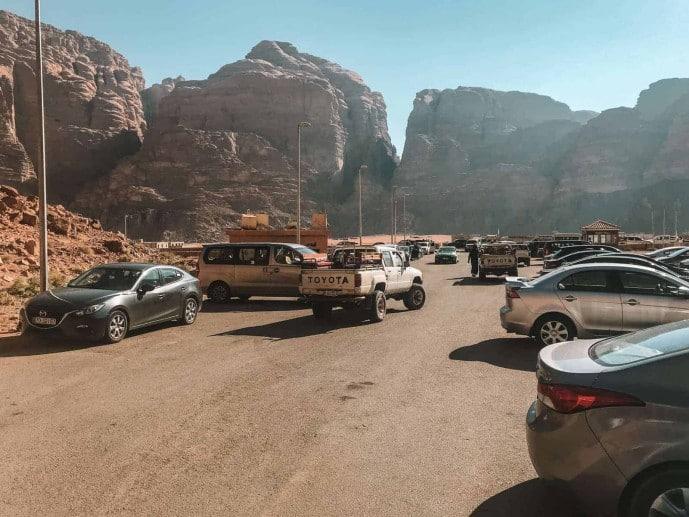 Wadi Rum Parking