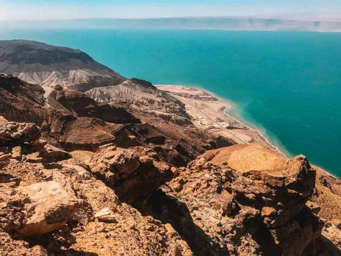 View of the Dead Sea Plateau