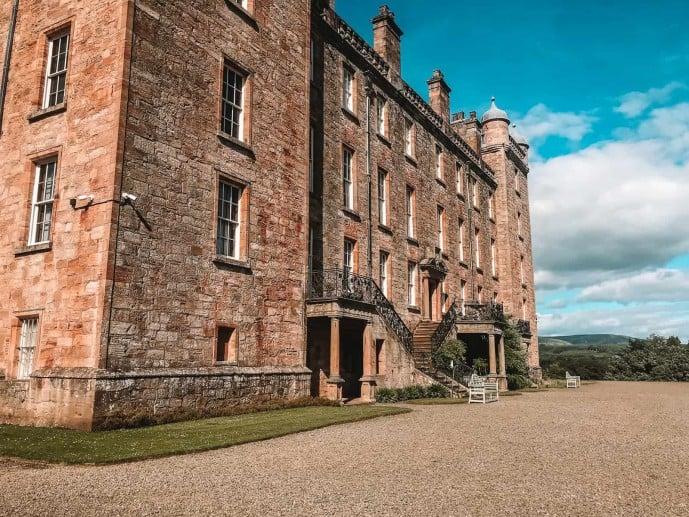 Drumlanrig Castle Outlander location Bellhurst Manor