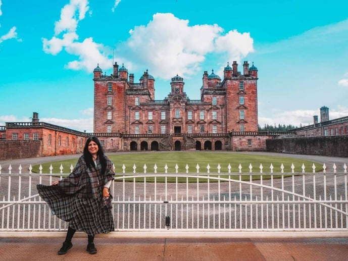 Drumlanrig Castle Outlander Location