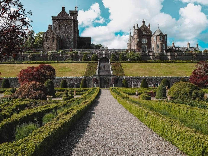 Drummond Castle Tower and Mansion