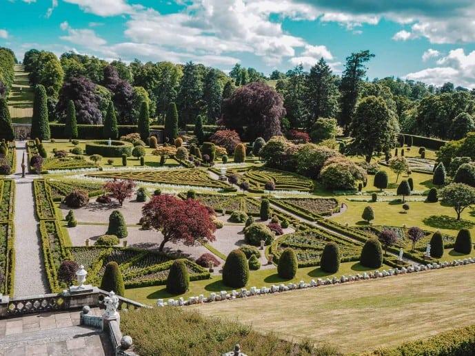 Drummond Castle walks