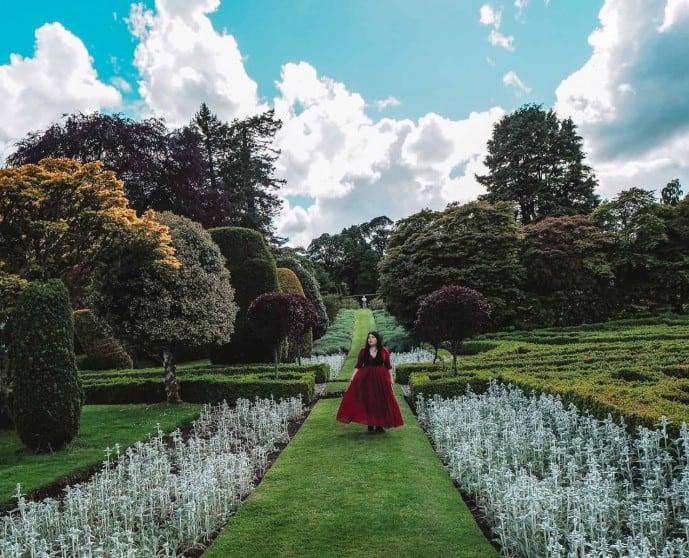 Drummond Castle Gardens