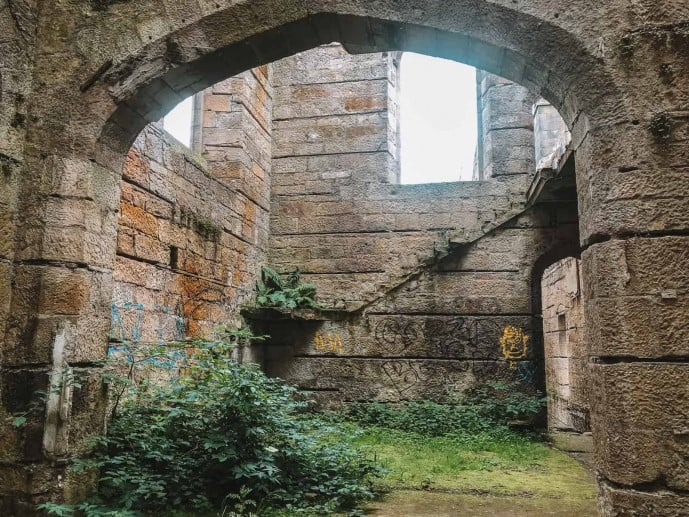 Dunmore Park House ruins