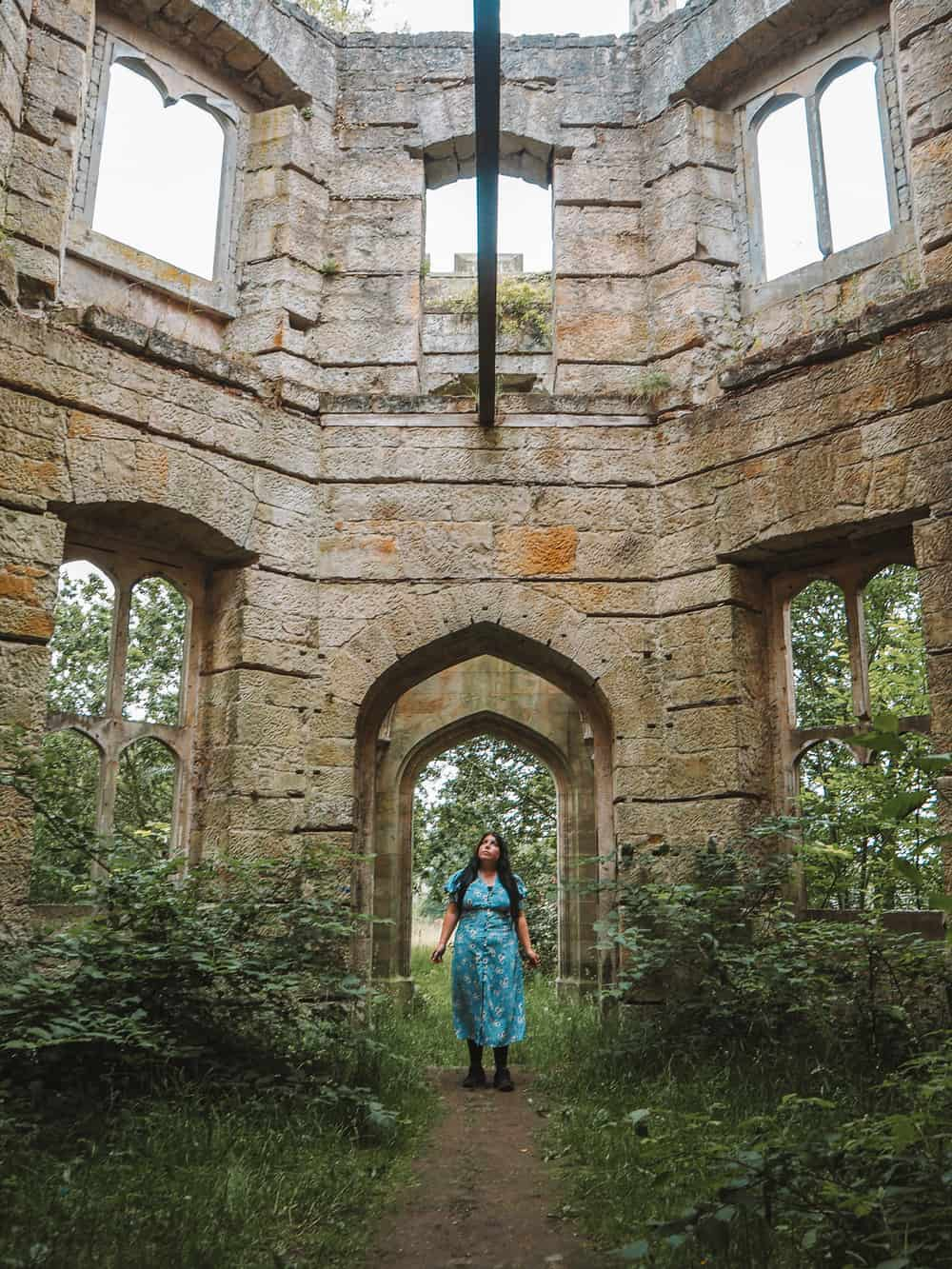How to find Dunmore House ruins