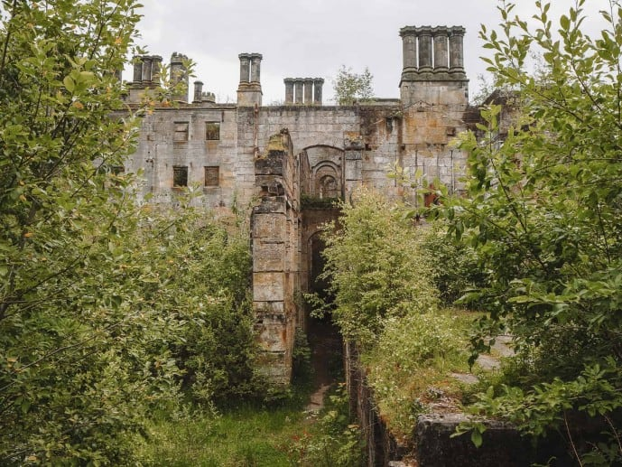 Dunmore House Park Ruins