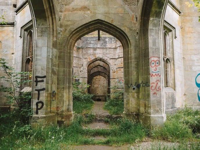 Dunmore Park House Ruins Outlander
