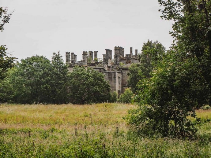 Dunmore Park House Outlander