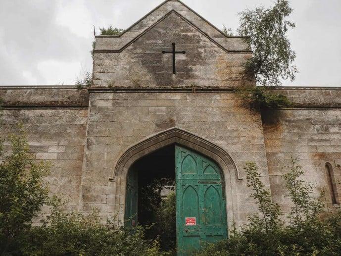 Dunmore Park House ruin