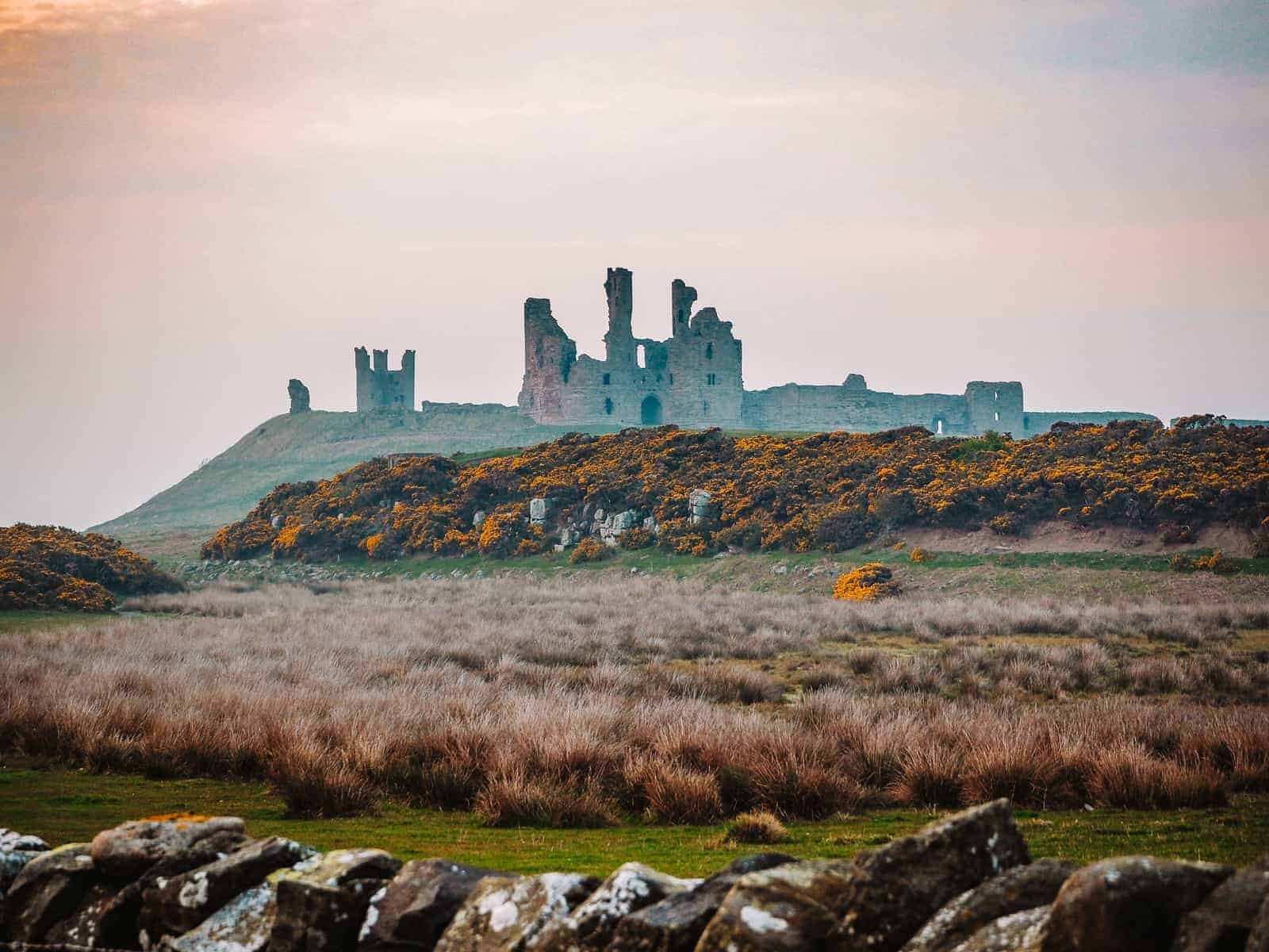 Dunstanburgh Castle Walk Northumberland