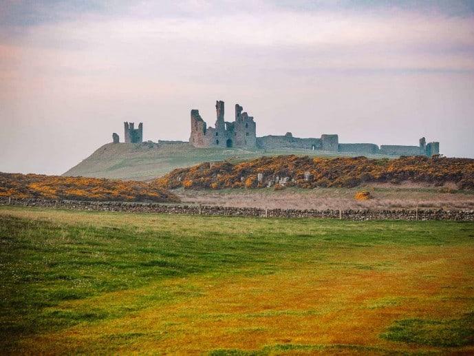 Dunstanburgh Castle ruins