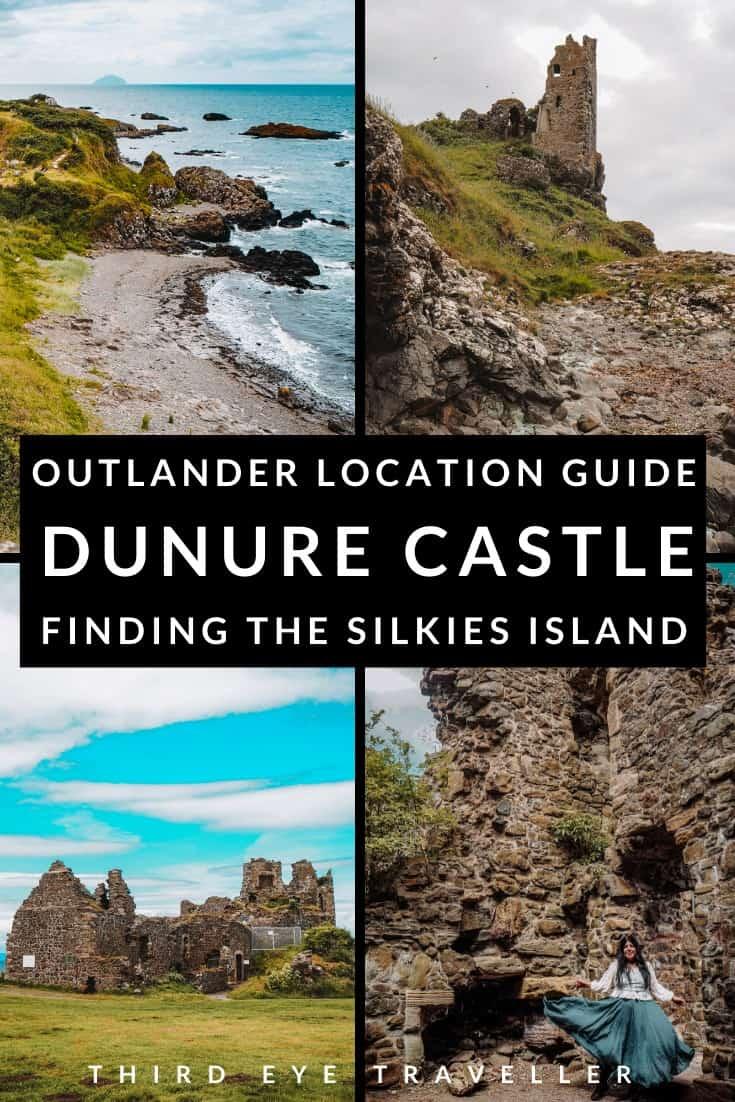 Dunure Castle Outlander Location Silkies Island Dunure Harbour