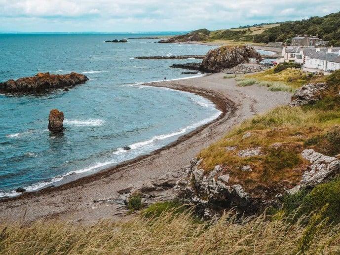 Dunure Castle Outlander Location Silkies Island