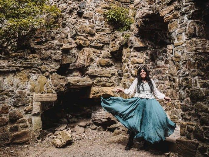 Dunure Castle Outlander Silkies Island