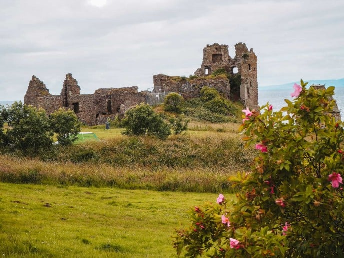 Dunure Castle Outlander Location for the Silkies Island