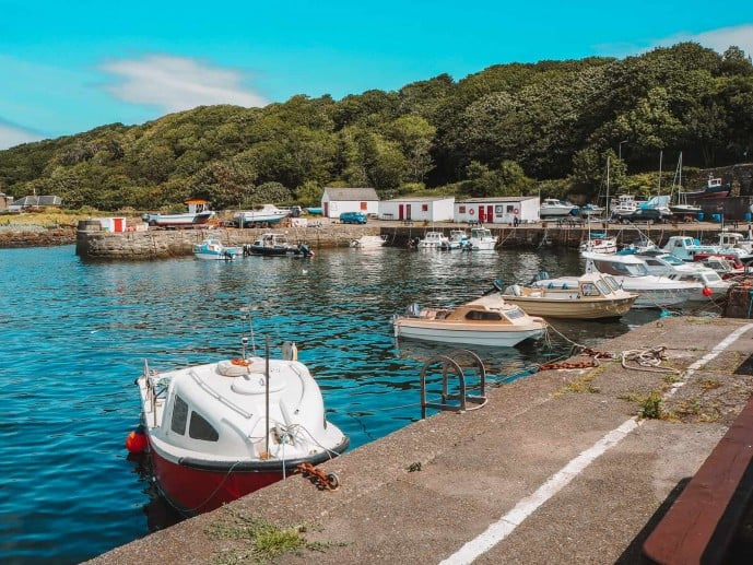 Dunure Harbour Outlander