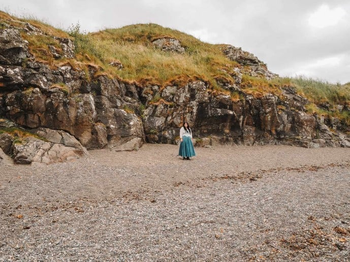 Dunure Beach Outlander
