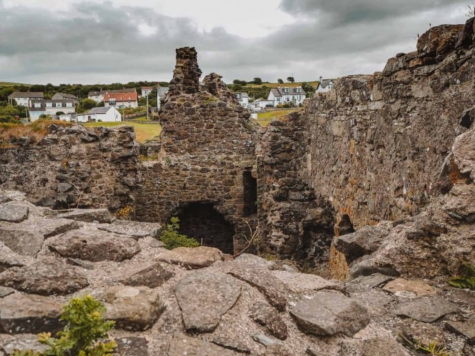 Dunure Castle Outlander location