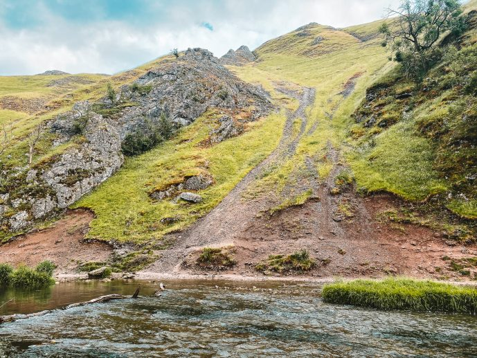 Dovedale Gorge peak District