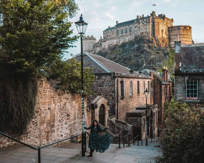 The Vennel Edinburgh | Instagram spots in Edinburgh