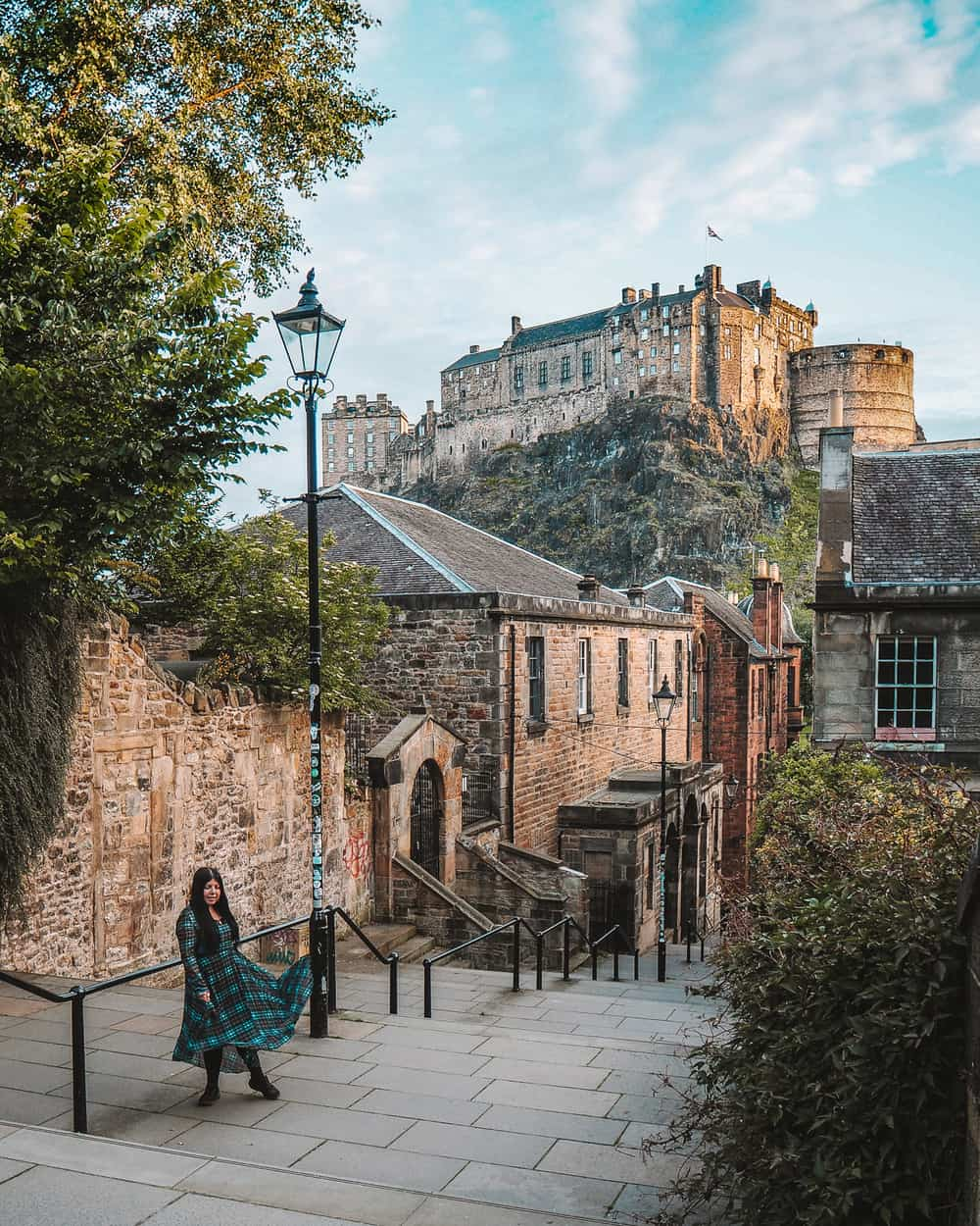 The Vennel Steps, Edinburgh | Instagram spots in Edinburgh
