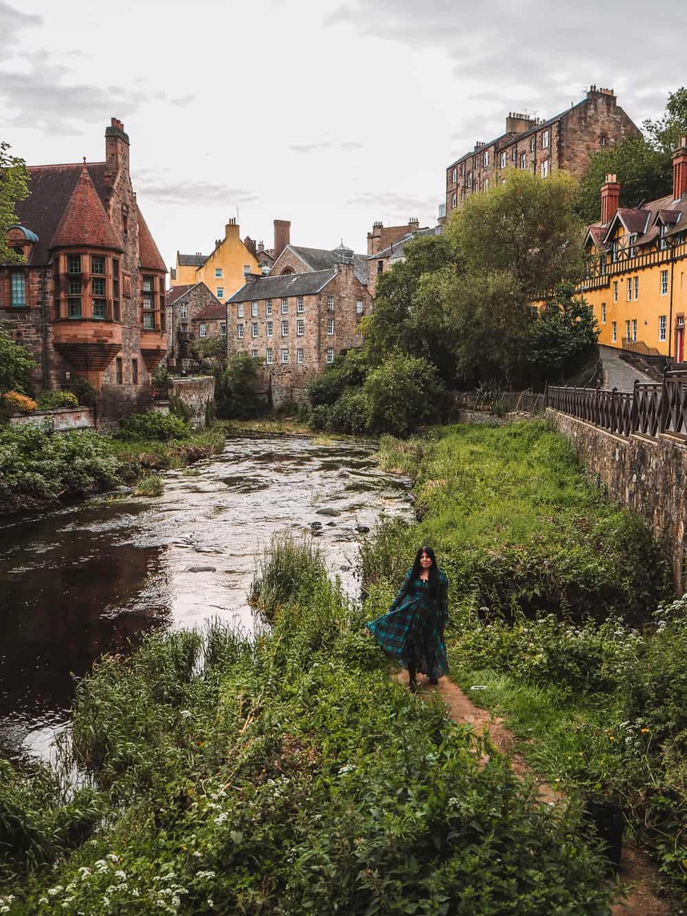 Dean Village | Instagram spots in Edinburgh