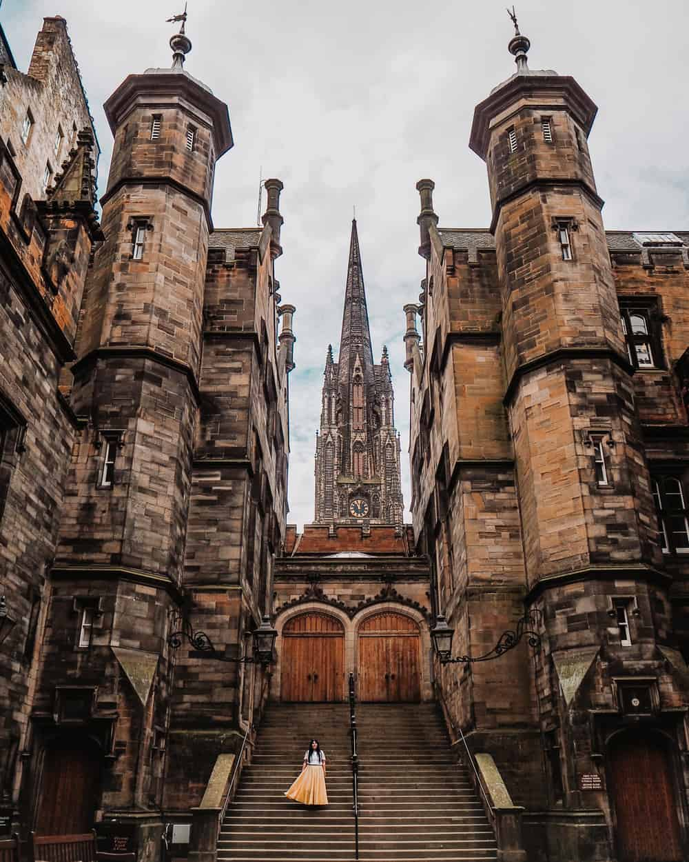 School of Divinity | Instagram spots in Edinburgh