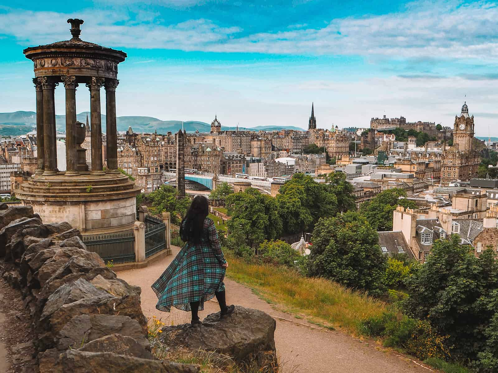 Calton Hill Edinburgh | Instagram spots in Edinburgh Scotland | Instagrammable Places in Edinburgh