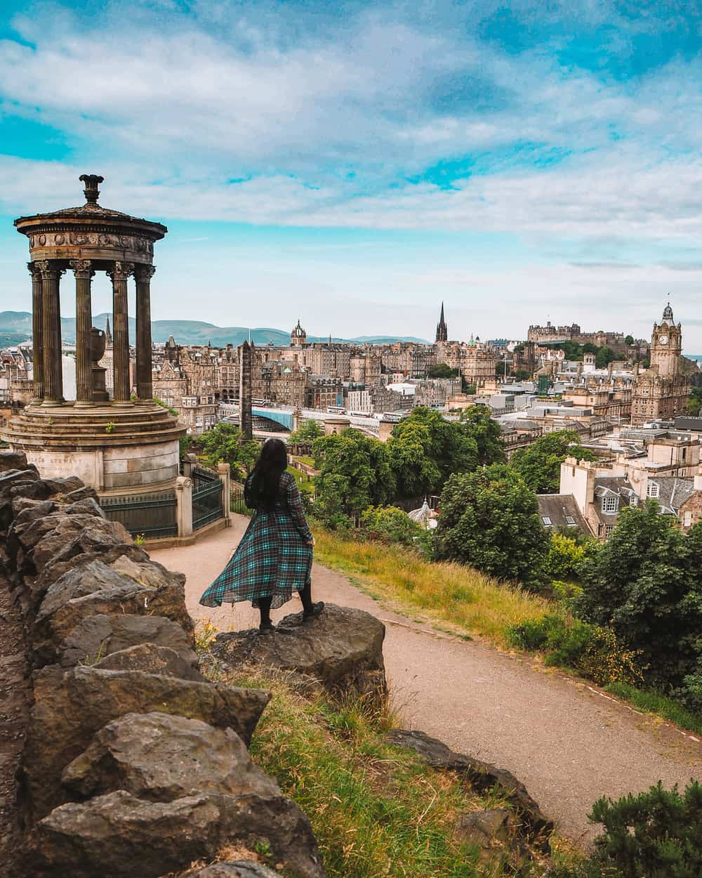 Calton Hill Edinburgh | Instagram spots in Edinburgh