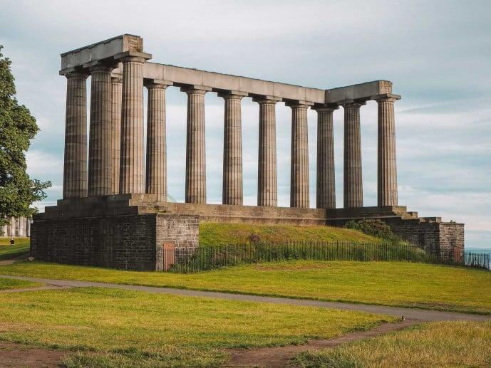 The Athenian Acropolis, Calton Hill, Edinburgh