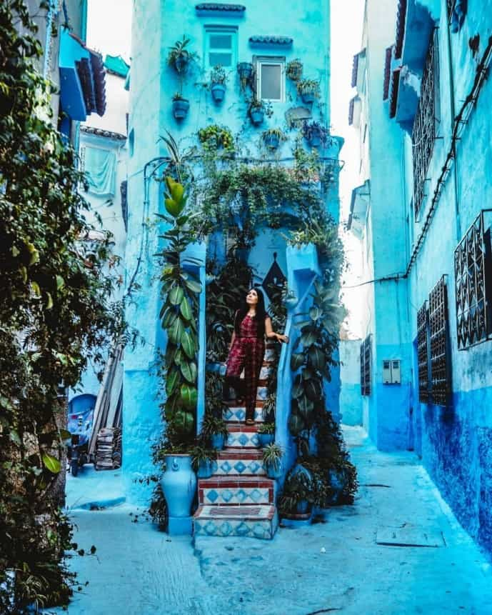 travel guide to chefchaouen
