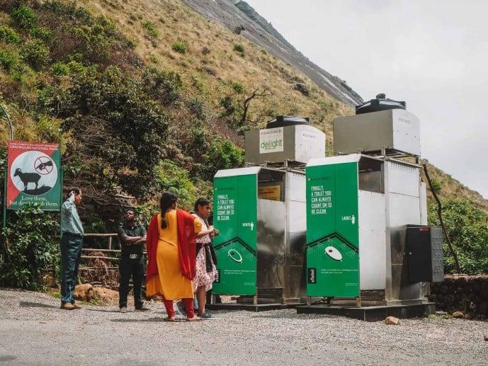 Eco Friendly toilet in India