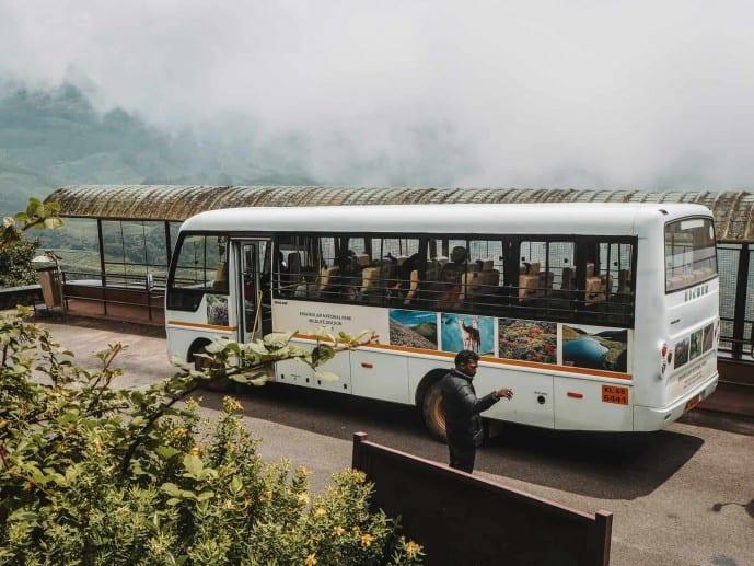 Eravikulam National Park buses