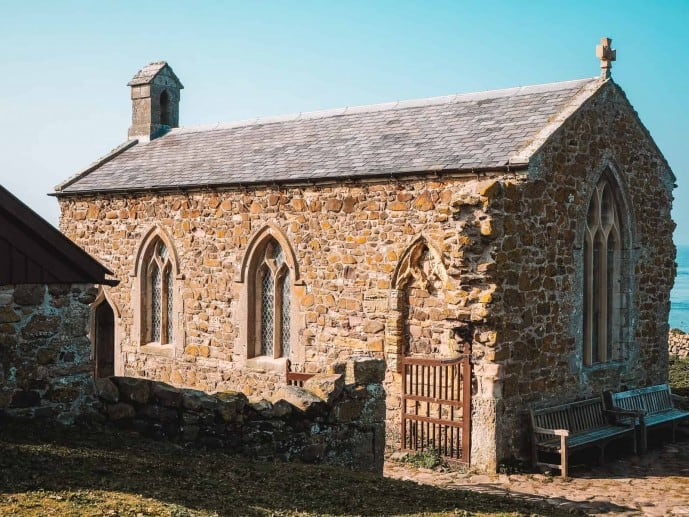 Farne Islands Chapel St Cuthberts Chapel