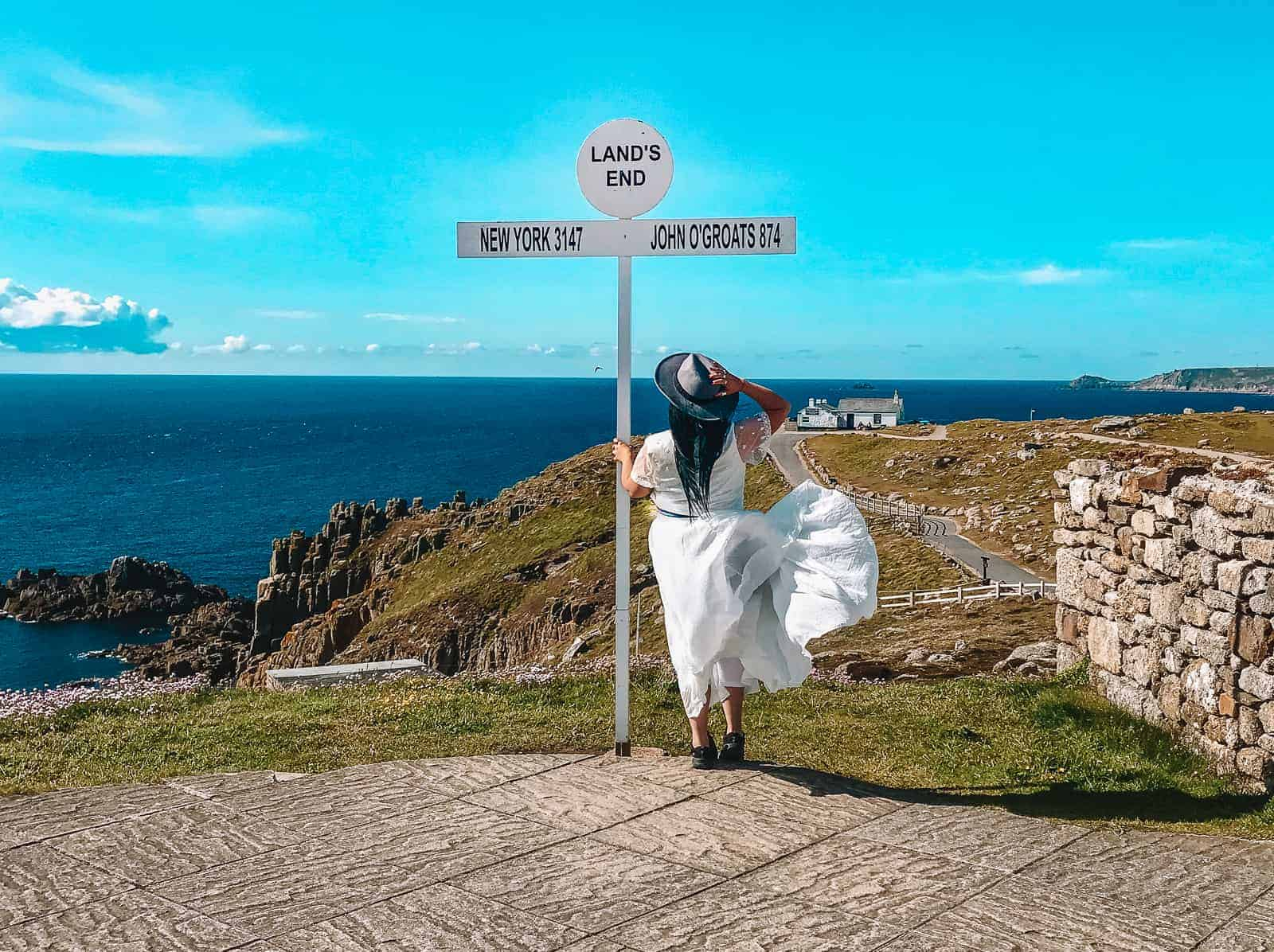 Things to do in Land's End Cornwall | Lands End sign