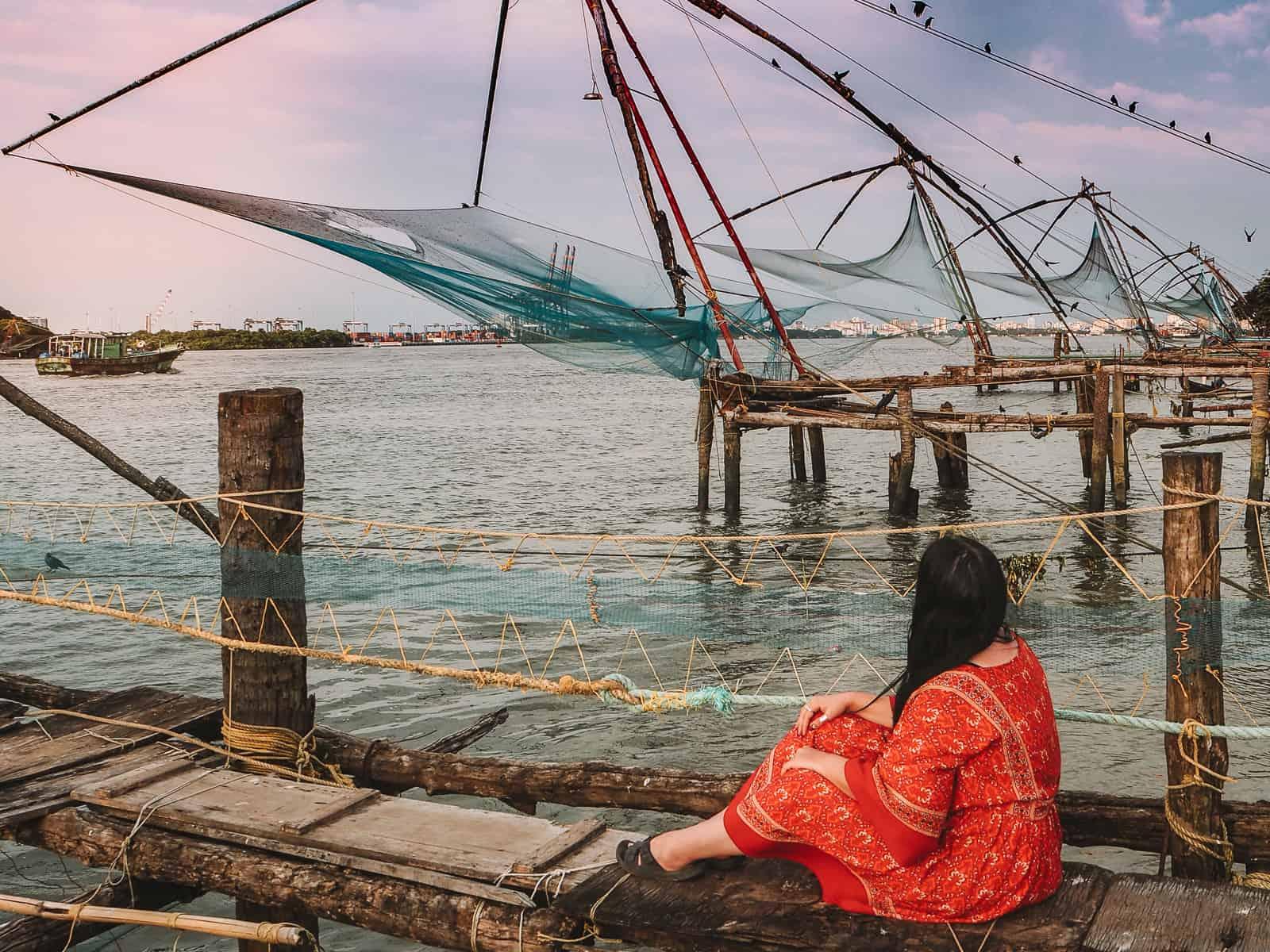 Things to do in Fort Kochi | chinese fishing nets Kochi