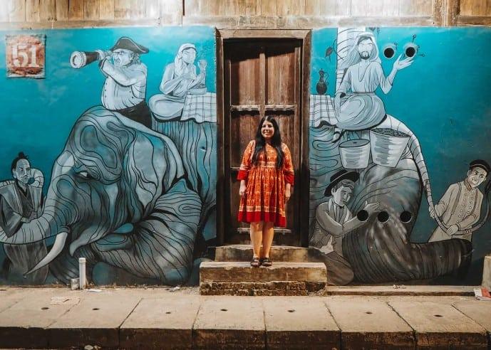 Kochi Street Art Things to do in Fort Kochi